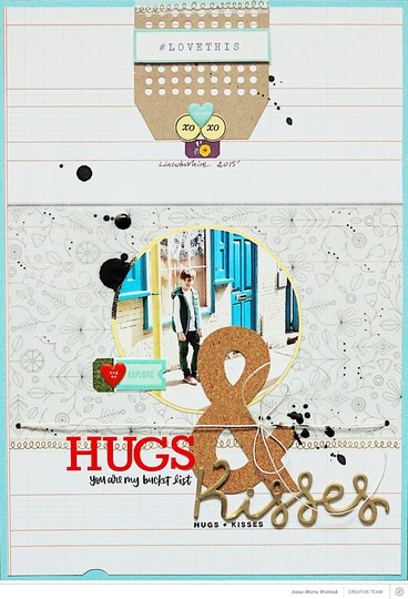 Hugs and kisses original