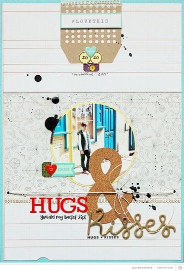 Hugs and kisses original