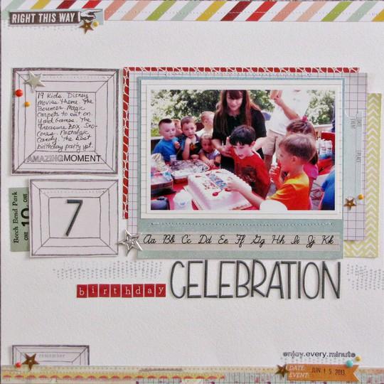 Birthday celebration 7