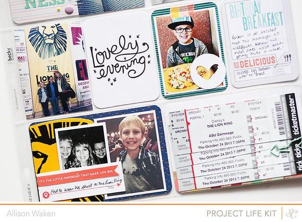 Allison waken project life week 43 5