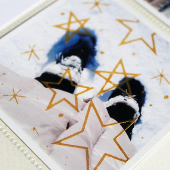 Detail starsscreenprint original