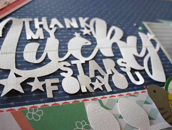 Thank my lucky stars detail 2 original