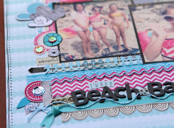 Beach babes close up one