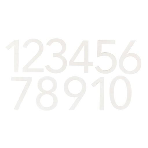 Picture of December Daily® 2019 Wood Veneer Numbers