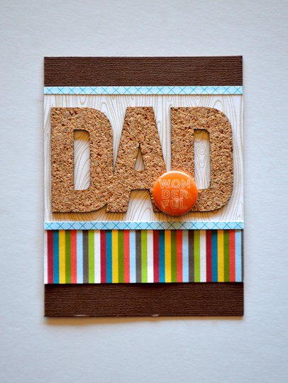 Wonderful dad card original