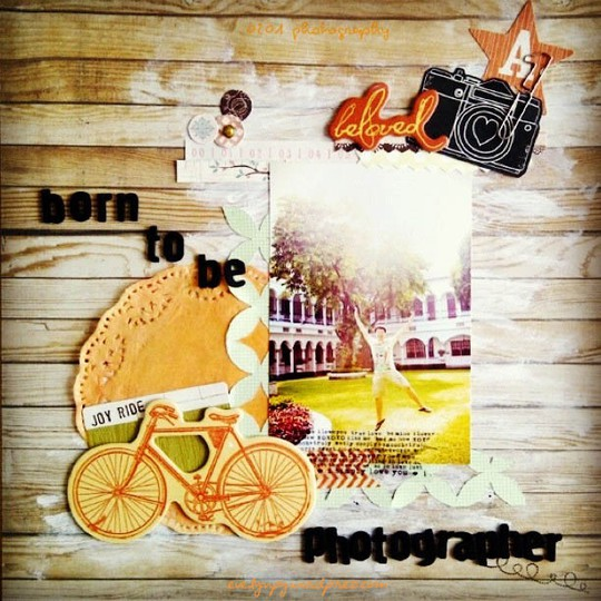 Born to be a photographer result