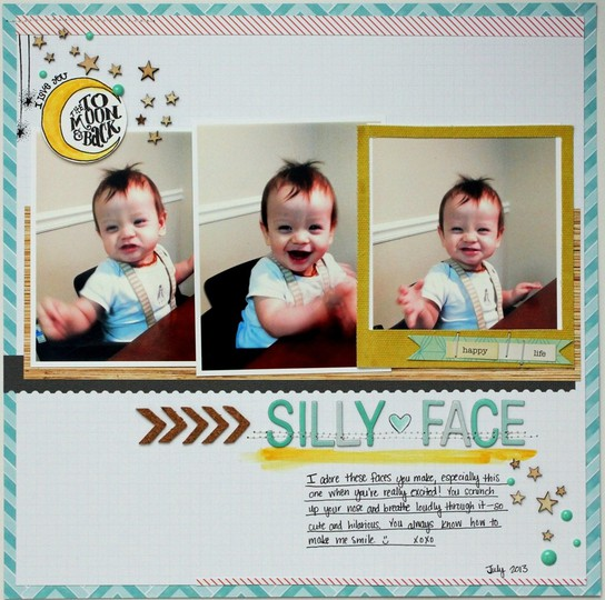Silly face