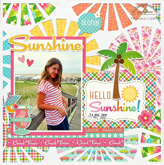 Mliedtke doodlebug fun in the sun hello sunshine original