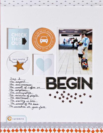 Begin   f original