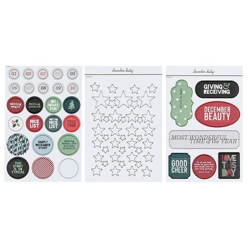 Picture of December Daily® 2020 Chipboard Sheet Bundle