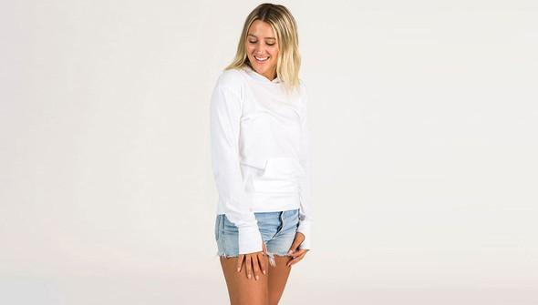 Basic pulloverhoodiewomen white slider1 original