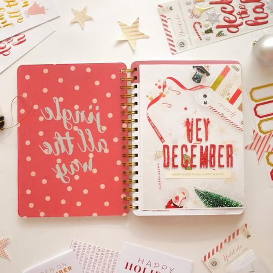 December daily by evelyn full insret 1 original