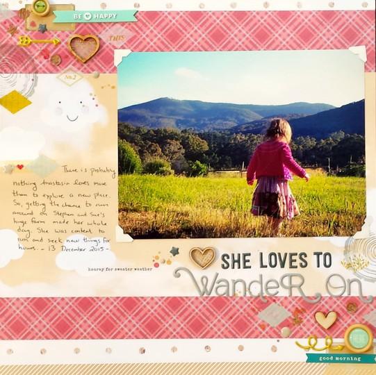 Wander on original