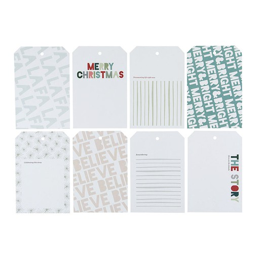 Picture of December Daily® 2019 4x6 Shipping Tags