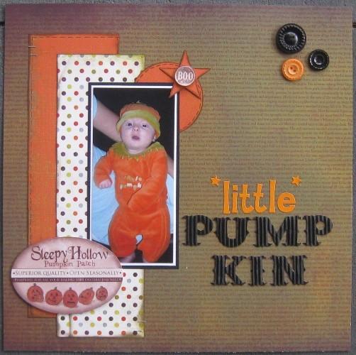 Little pumpkin 001