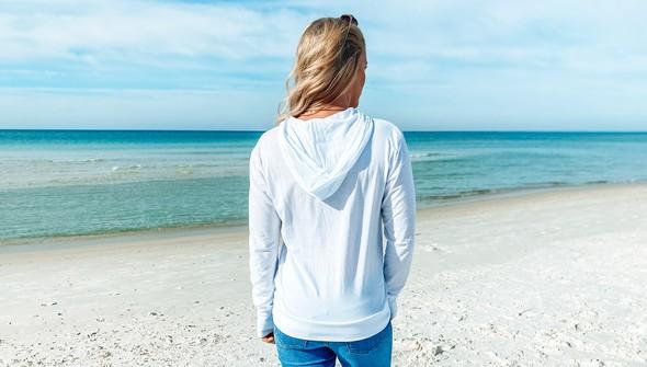 129448 heart grid pullover hoodie women white slider5 original