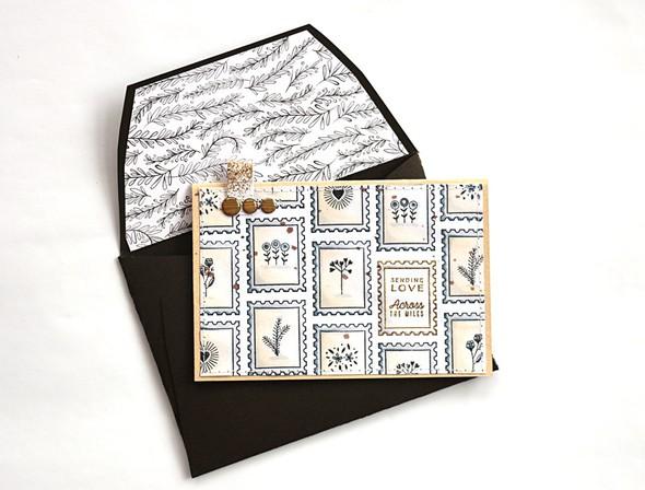 Sending love envelope by natalie elphinstone original original