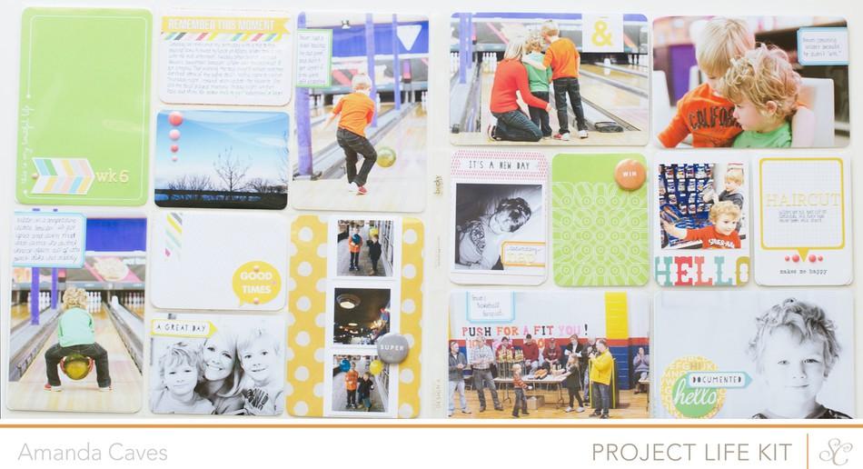 Itsmeamanda project life week6 neverland studio calico full