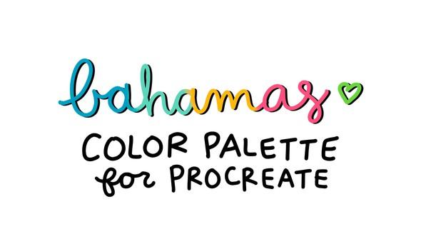 Cd color palette bahamas original