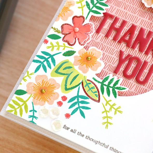 Say it with florals thank you detail original