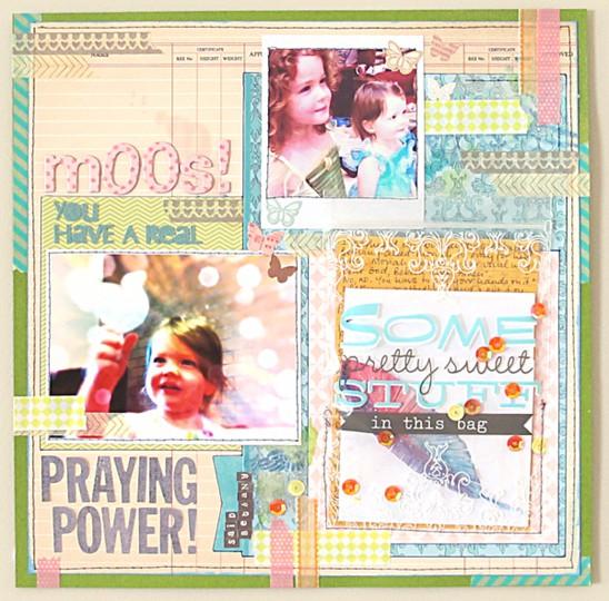 Praying power