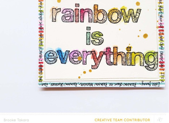 Rainbow is everything detail final original