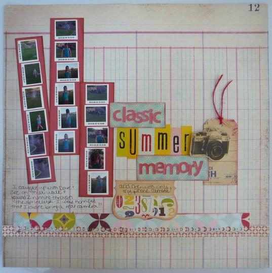 Summer memory small