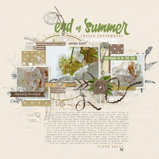 End of summer 700 original