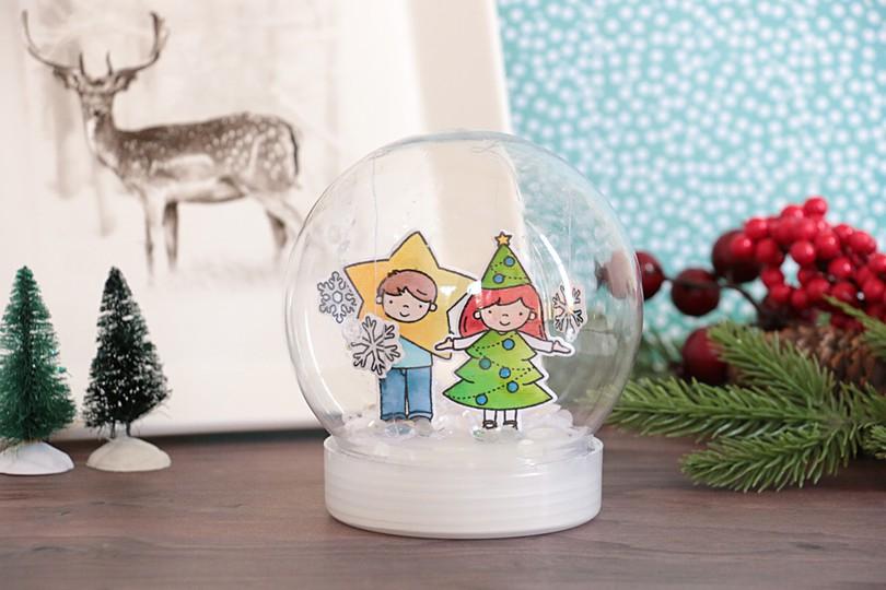 Snow globe by natalie elphinstone original