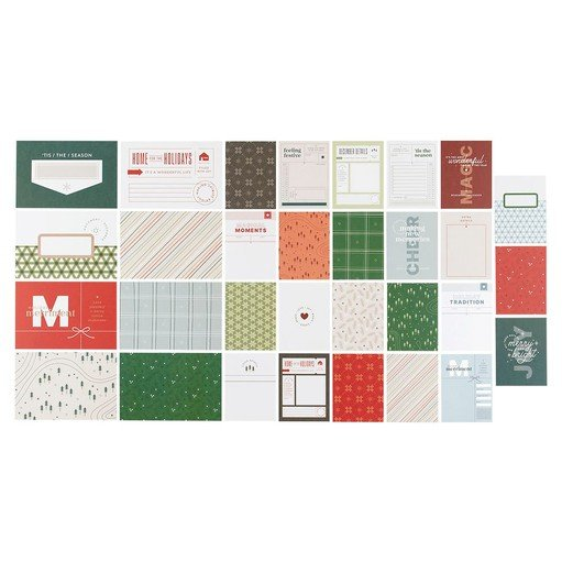 Picture of December Daily® 2021 Journal Card Set by In A Creative Bubble