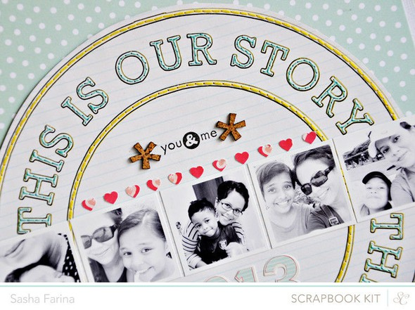 This is our story closeup