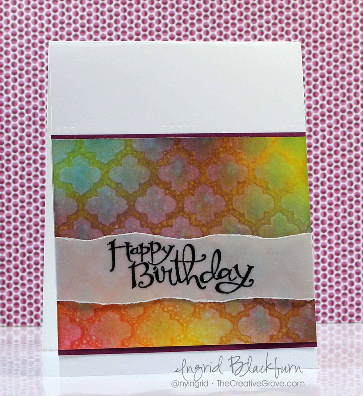 Stenciled birthday wishes 001 original