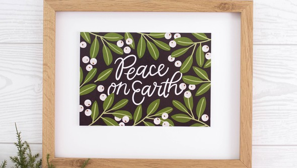 Peaceonearthartprint slider2 original