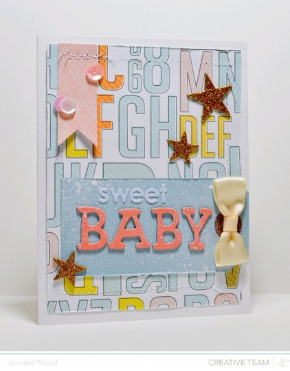 Atlantic baby card