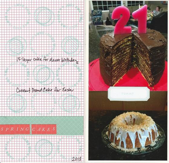 Spring cakes original