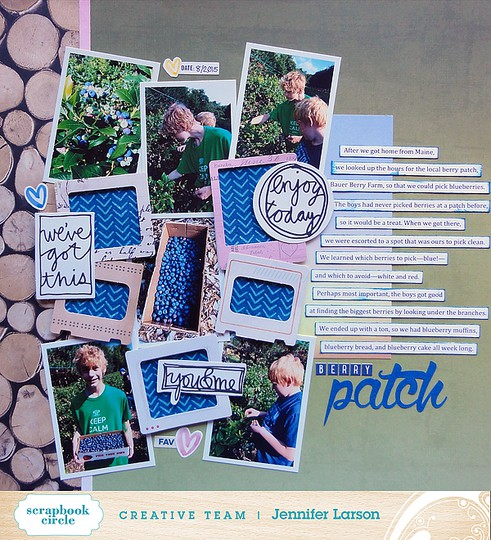 Berry patch by jennifer larson ed original