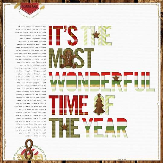 Wonderful time of year original