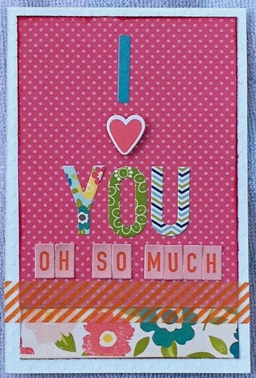 Card iheartyouohsomuch