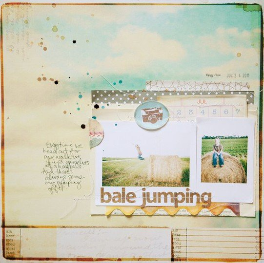 Marcypenner bale jumping