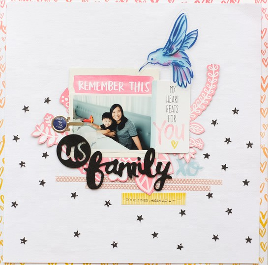 Us family american crafts amy tangerine better together by evelynpy original