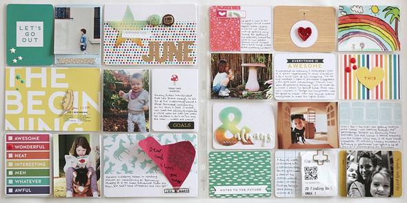 June spread by natalie elphinstone original