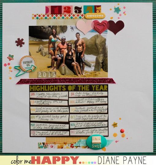 Highlights dianepayne