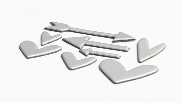 94399 silverfoilchipboardheartsandarrows slider2 original