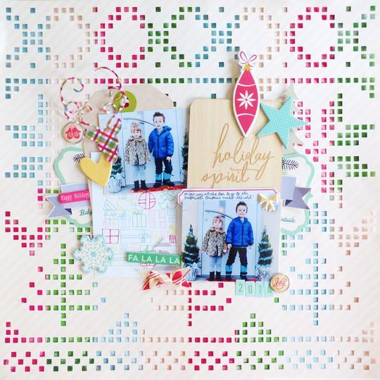 Holiday spirit by paige evans original