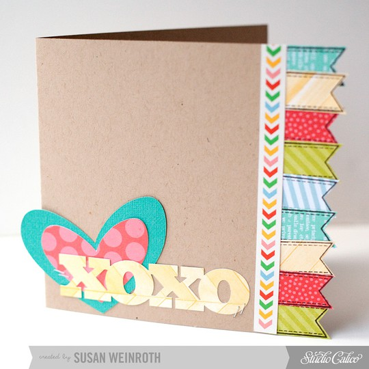 4   xoxo card   susan weinroth