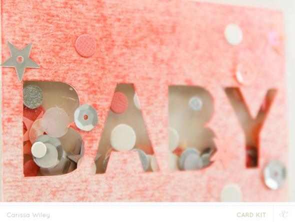 Baby confetti shaker card final banner 2