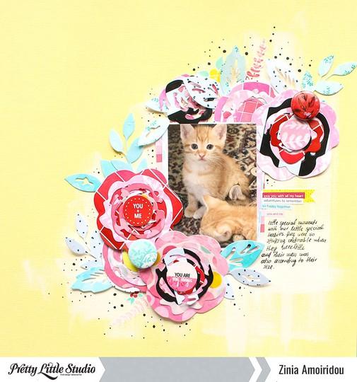 Pls zinia floralcuts 7 original