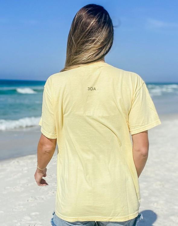 154045 simple beach happy comfort colors short sleeve tee butter women slider 4 original