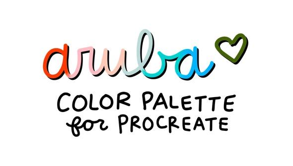 Cd color palette aruba original