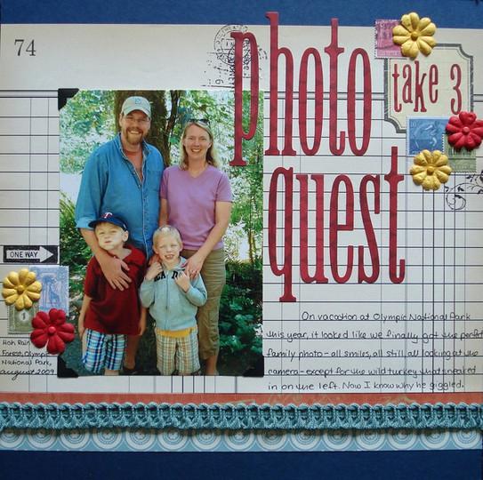 Photo quest take 3